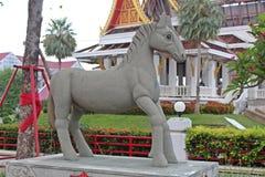 Muestre el molde del año del caballo en ciclo de 12 años Foto de archivo libre de regalías
