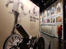 Muestre en el museo Kansas Missouri de la Primera Guerra Mundial fotos de archivo libres de regalías