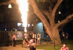 Muestre jugado con el fuego Foto de archivo