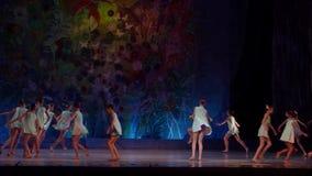 Muestre las perlas del ballet almacen de metraje de vídeo