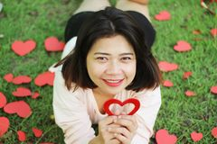 Muestre su amor imagen de archivo libre de regalías