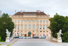 Mueums Quartier building in Vienna Stock Images