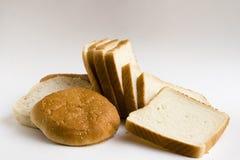Muffa di pane, hamburger del pane Fotografia Stock Libera da Diritti