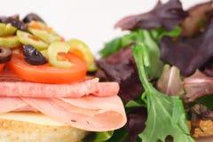muffaletta sanwich Obrazy Royalty Free