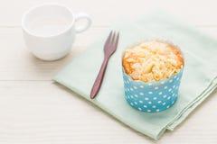 Muffin αμυγδάλων Στοκ Φωτογραφίες