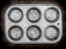 muffin ανασκόπησης πανοραμική λήψη Στοκ Εικόνα