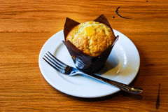 Muffin λεμονιών στοκ φωτογραφία με δικαίωμα ελεύθερης χρήσης