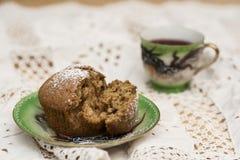 Muffin ημερομηνιών Στοκ Φωτογραφίες