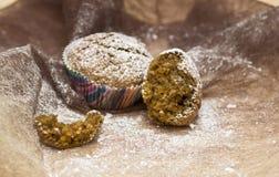 Muffin ημερομηνιών Στοκ Φωτογραφία