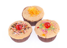 Muffin κέικ Στοκ εικόνες με δικαίωμα ελεύθερης χρήσης