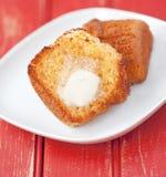 Muffin καλαμποκιού Στοκ φωτογραφίες με δικαίωμα ελεύθερης χρήσης