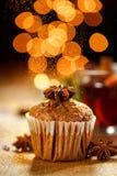 Muffin κανέλας Στοκ Φωτογραφίες