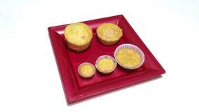 Muffin καρότων Στοκ εικόνες με δικαίωμα ελεύθερης χρήσης