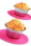 muffin καρύδια που ολοκληρών&om Στοκ Φωτογραφίες