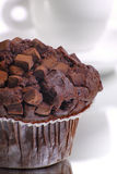 muffin καφέ Στοκ φωτογραφία με δικαίωμα ελεύθερης χρήσης