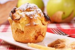 muffin μήλων Στοκ φωτογραφία με δικαίωμα ελεύθερης χρήσης