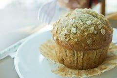 Muffin μπανάνα Στοκ Εικόνα