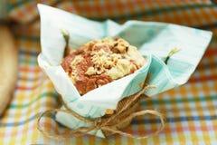 Muffin μπανανών Στοκ φωτογραφίες με δικαίωμα ελεύθερης χρήσης