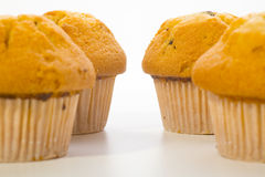 Muffin μπισκότα Στοκ φωτογραφία με δικαίωμα ελεύθερης χρήσης