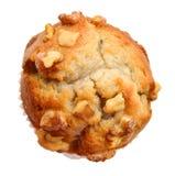 Muffin ξύλων καρυδιάς Στοκ Εικόνα