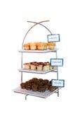 Muffin ποικιλίας στη στάση Στοκ εικόνες με δικαίωμα ελεύθερης χρήσης
