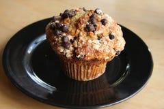 muffin σοκολάτας μπανανών Στοκ Εικόνες