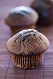 muffin σοκολάτας νόστιμο Στοκ φωτογραφία με δικαίωμα ελεύθερης χρήσης