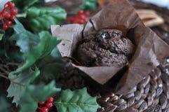 Muffin σοκολάτας Στοκ φωτογραφίες με δικαίωμα ελεύθερης χρήσης