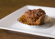 Muffin σταφίδων κολοκύθας Στοκ Εικόνες