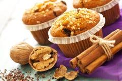 Muffin συσσωματώνει κοντά επάνω Στοκ εικόνα με δικαίωμα ελεύθερης χρήσης