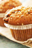 Muffin συσσωματώνει κοντά επάνω Στοκ φωτογραφίες με δικαίωμα ελεύθερης χρήσης