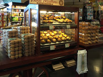 Muffin της Νίκαιας πώληση Στοκ Εικόνες