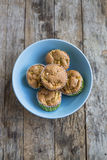 Muffin της Apple στενός επάνω Στοκ Φωτογραφία