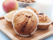 Muffin της Apple Στοκ εικόνες με δικαίωμα ελεύθερης χρήσης