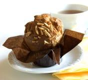 muffin τσάι Στοκ φωτογραφία με δικαίωμα ελεύθερης χρήσης
