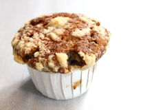 Muffin τσιπ σοκολάτας ανθυγειινή κινηματογράφηση σε πρώτο πλάνο τροφίμων Στοκ Φωτογραφίες