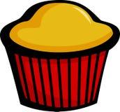 muffin ψωμιού γλυκό Στοκ Εικόνα