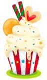 muffin royaltyfri illustrationer