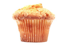 Muffin. Sugar muffin isolated on white Royalty Free Stock Photos
