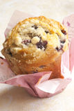 Muffin. Freshly baked delicious blueberry muffin Royalty Free Stock Images