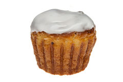 Muffin. Photo of the muffin on white background Royalty Free Stock Images