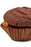 Muffin 2 van de chocolade Royalty-vrije Stock Afbeelding