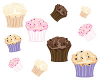 Muffin Imagens de Stock Royalty Free