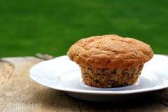 Σπιτικό muffin πίτουρου Στοκ Φωτογραφία