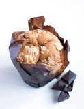 Muffin - Apple cupcake Royalty Free Stock Photo