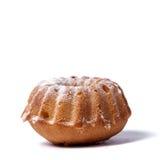 Muffin auf einem weißen Hintergrund Lizenzfreie Stockbilder