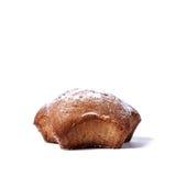 Muffin auf einem weißen Hintergrund Stockbilder