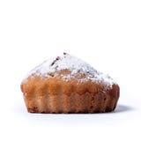 Muffin auf einem weißen Hintergrund Stockfoto