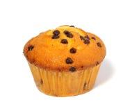 Muffin auf weißem Hintergrund stockfotos