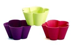 Muffin baking tins Stock Image